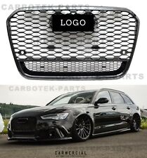 Für Audi A6 4G C7 RS6 Look Wabengrill Kühlergrill grill Stoßstange 11-14 CP10070