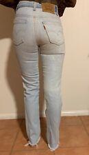 Vintage Ladies Levi's Denim original 70s ORANGE TAB high waist jean Aus size 4/6