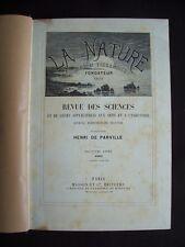 La nature - Premier semestre 1902