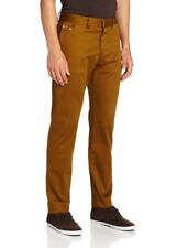 Diesel Mens size 38 Golden Brown CHI-REGS-A Trousers Hook Closure Button Fly M3