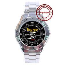 NEW Triumph Sprint ST 1050 CUSTOM CHROME MEN WATCH WRISTWATCHES