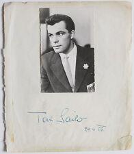 Original 1956 Toni Sailer Autogramm, Boxer Hans Orsolics 1973
