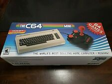 The C64 Mini Retro Console Includes 64 Built-in Games & Joystick NEW