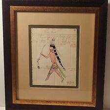 BRENT LEARNED ORIGINAL LEDGER ART / CHEYENNE-ARAPAHO