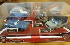 Cars 2 Disney Store Pixar SAVE THE QUEEN Talking Mater - Die Cast Set -Brand New