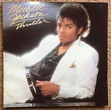 Michael Jackson Thriller Vinyl LP Record Album Opens to full body layout