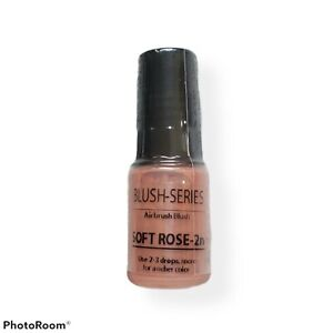 Luminess Ultra Airbrush Blush Soft Rose 2n Series .25 fl oz 7.5ml Sealed New