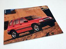 2001 Chevrolet Tracker Brochure