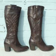 Clarks Leather Boots Size Uk 6 Eur 39 Womens Ladies  X  Sexy Shoes Brown Boots