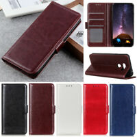 Luxury Wallet Leather Flip Stand Case Cover For LG G7 G8 Q60 Q70 K50 K40 Stylo 5
