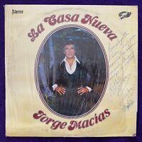 JORGE MACIAS La Casa Nueva LP PRIVATE Latin Soul BREAKS Unknown RARE Record HEAR