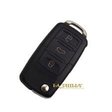 Flip Remote Key Shell FOB Case Blade For VW Passat Golf Beetle Jetta Rabbit 3BTN