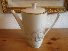 Kaffeekanne 18cm, Hutschenreuther Diadem 8775, Sicilia, 50iger Jahre
