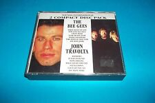 THE BEE GEES - JOHN TRAVOLTA 2 COMPACT DISC PACK NUOVO