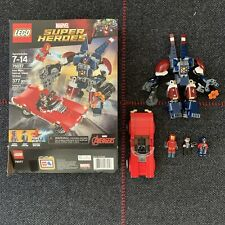 LEGO Disney Marvel Super Heroes 76077, Iron Man:Detroit Steel Strikes