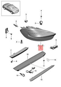 Genuine PORSCHE Boxster Spyder 981 Rear Light Right 98163198801
