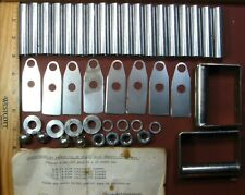 New listing Moline Brownie & Pastry Cutter,8 Blades, Handles,18 spacers, Rods Not Included