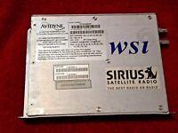 AVIDYNE XM RECEIVER P/N 700-00159-001 SIRIUS SATELLITE RADIO WSI P/N 420-0300-RC