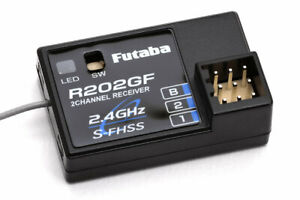 Futaba R202GF 2CHANNEL RECEIVER 2.4GHz S-FHSS/FHSS R202GF