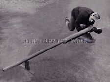 ANTIQUE REPRODUCTION HUGE BOAT PUNT GUN DUCK GOOSE HUNTING 8X10 PHOTOGRAPH