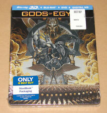 Gods of Egypt Limited Edition Steelbook (3D Blu-ray/ Blu-ray + DVD + Digital HD)