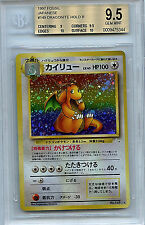 Dragonite Pokemon Japanese BGS Graded 9.5 Gem Min  1997 Fossil Holo #149 Card 44