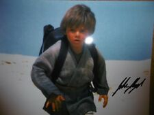 STAR WARS JAKE LLOYD ANAKIN SKYWALKER SIGNED PHOTO CERTIFICATE OF AUTHENTICITY
