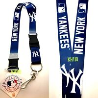 MLB NEW York Yankees Crossover Lanyard with Double Sided Graphics