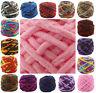 100G Chunky Crochet Double Knitting chenille Milk velvet Wool yarn 42 COLOUR