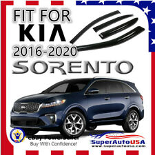 FIT FOR 2016-2020 KIA SORENTO OEJDM STYLE TINT WINDOW VISOR VENT SHADE Deflector