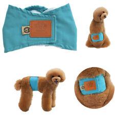 S-XL Puppy/Large Female Dog Shortpants Sanitary Underpants Washable Diaper Set