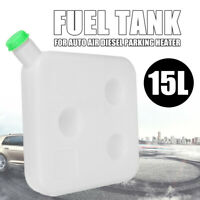🔥15L Plastic Fuel Oil Gasoline Tank Kit For Car Truck Air Diesel Parking Heater