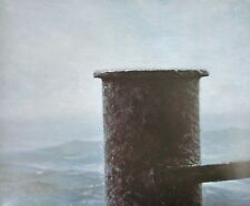 Vintage Art Andrew Wyeth Rag Bag 1986 - James Wyeth Sea of Storms Detail 1970