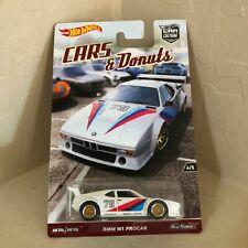 Hot Wheels Premium BMW M1 PROCAR Car Culture Cars & Donuts 1:64, Neu,OVP