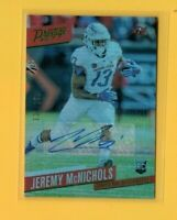 D20355  2017 Prestige RC Autographs Xtra Points Green #299 Jeremy McNichols /150