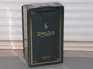 RALPH LAUREN POLO GREEN After Shave Balm, Aftershave, 4 oz., 118 ml, NEW, SEALED