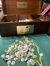 New listing Augusta National Golf Club Member's Course Ball Markers & ANGC Score Card Pencil