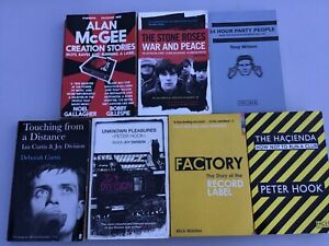 JOY DIVISION, STONE ROSES, PETER HOOK, IAN CURTIS, FACTORY RECORDS, THE HACIENDA