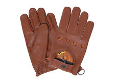 Sheep Skin Diving Gloves Chauffeur gloves 100% real leather Classic Retro Style