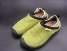 Keen Womens 6 Fleece GREEN Comfort Shoe