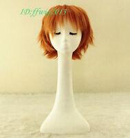 Peter Pan short orange Cosplay Wig + free wig cap