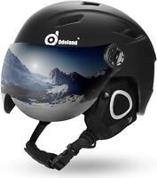 $200 Odoland Might Visor Ski-Snowboard Helmet Goggle 57-59cm +burton decal AR278