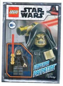 Lego Star Wars - Emperor Palpatine - Foil Pack - 912169 New & Sealed sw1107