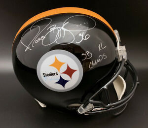 Jerome Bettis SIGNED Steelers F/S Helmet + SB XL Champs ITP PSA/DNA AUTOGRAPHED