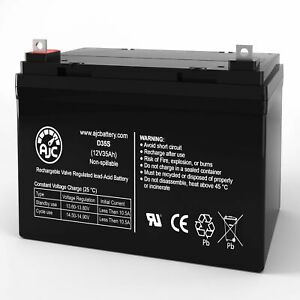 Pride Mobility Victory 9 12V 35Ah Wheelchair Replacement Battery