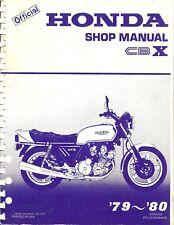 1979-1980 HONDA CBX 1000 MOTORCYCLE SERVICE MANUAL -HONDA CBX 1000