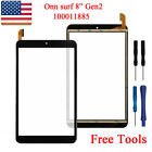 """Onn Surf  8"""" Tablet Gen 2 100011885 2APUQW829 Touch Screen Digitizer Glass Tools"""