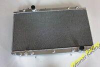 56MM ALUMINUM RADIATOR FOR TOYOTA ARISTO JZS16 2JZ-GTE 3.0L TURBO A/T 1997-2004