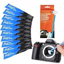 VSGO Full Frame 10pcs Sensor Cleaning Swabs for All Full Frame DSLR Cameras 24mm
