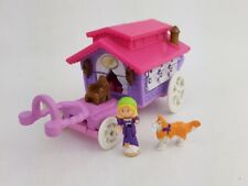 Vintage Polly Pocket wagon du cirque Sur Le Go 99% complet 1995 jouets Excellent